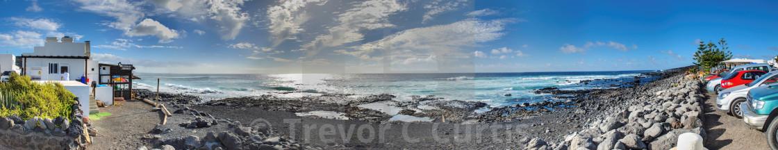 """EL Golfo Beach"" stock image"