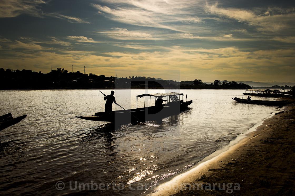 """""""Mekong River"""" stock image"""