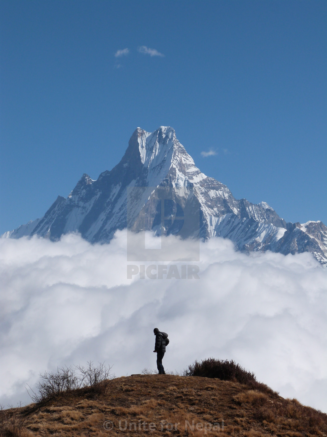 """""""Top of the World"""" stock image"""