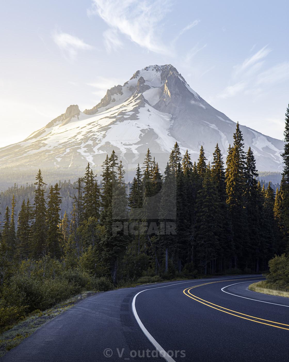 """""""Mt. Hood"""" stock image"""