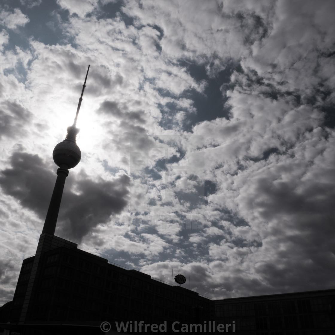 """Berlin Sunset"" stock image"