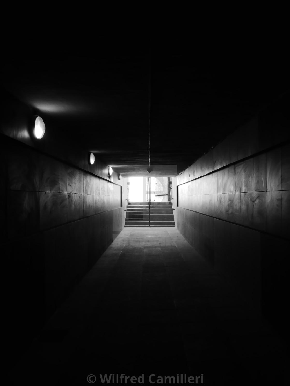 """Towards the light"" stock image"