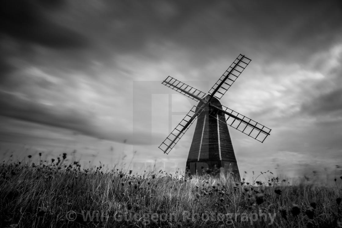 """Beacon Mill, Rottingdean"" stock image"