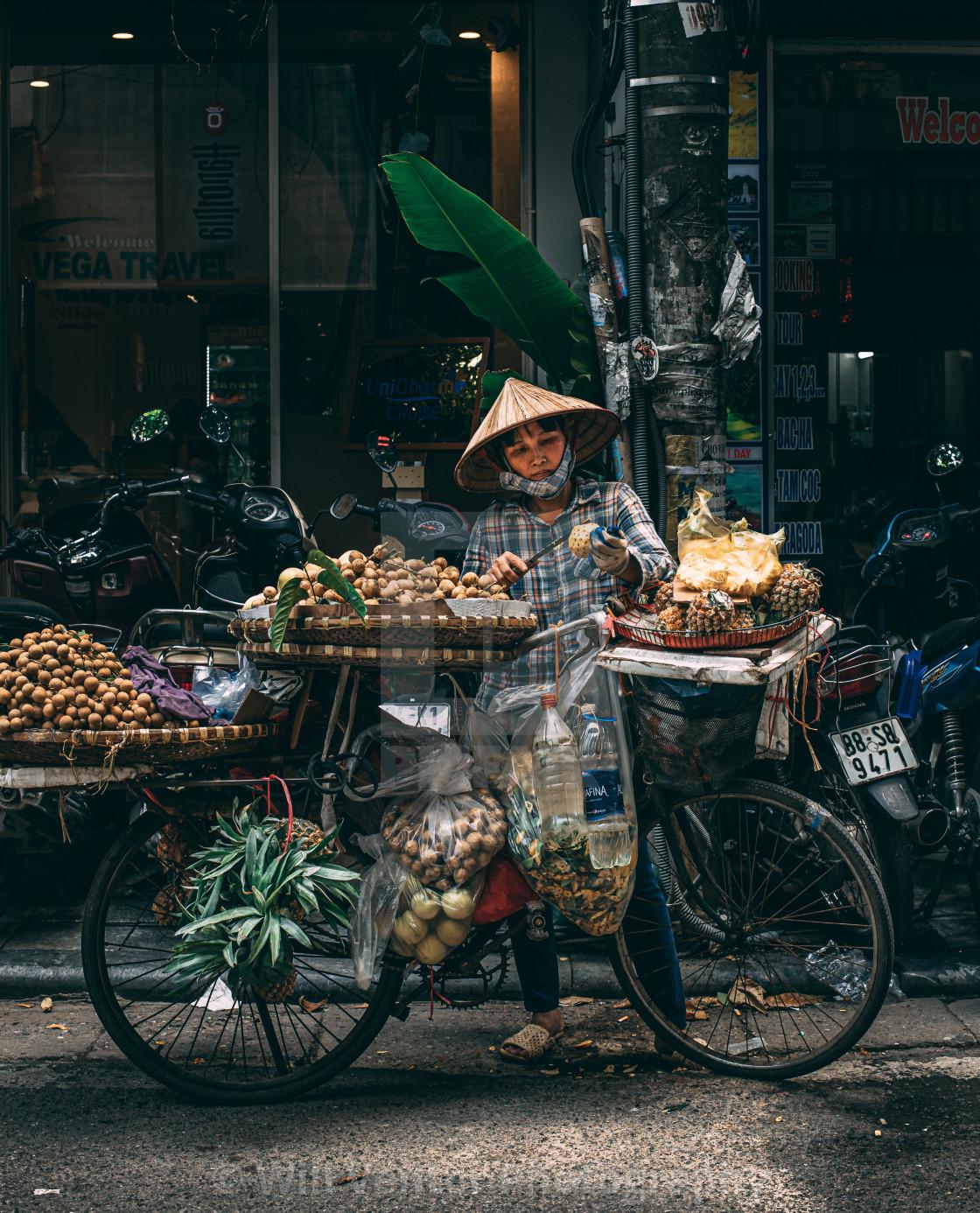 """Street Food Vendor"" stock image"