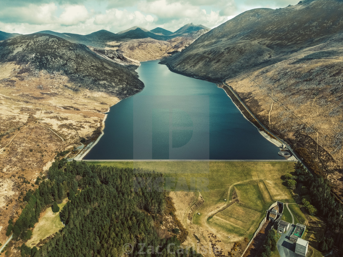 """Silent Valley Reservoir"" stock image"