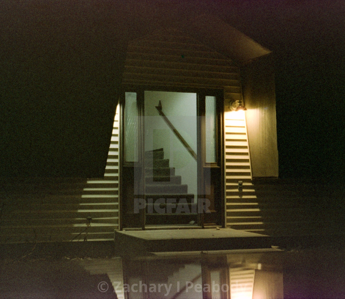 """""""Doorway to apartment complex"""" stock image"""