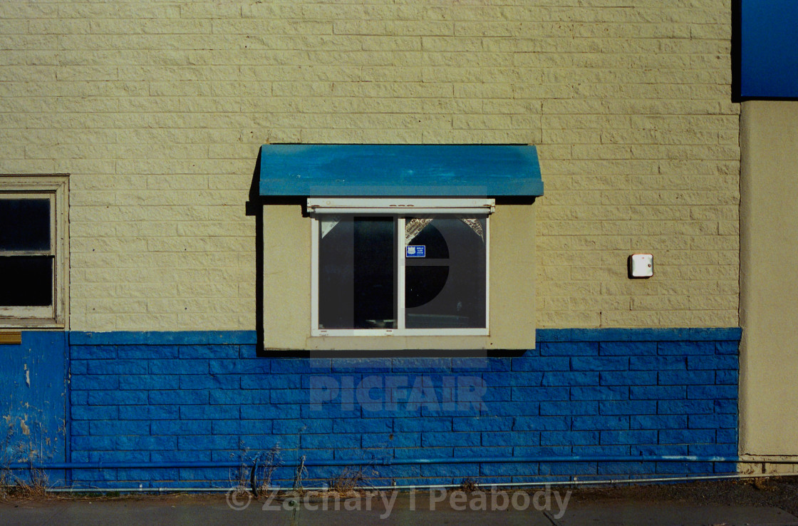 """""""Old Drive Through 2"""" stock image"""
