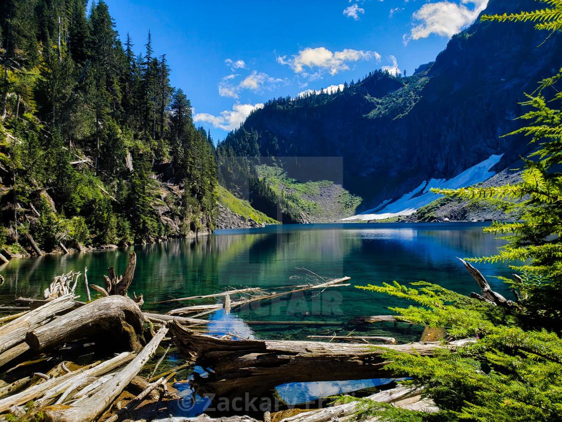 """Lake Serene"" stock image"