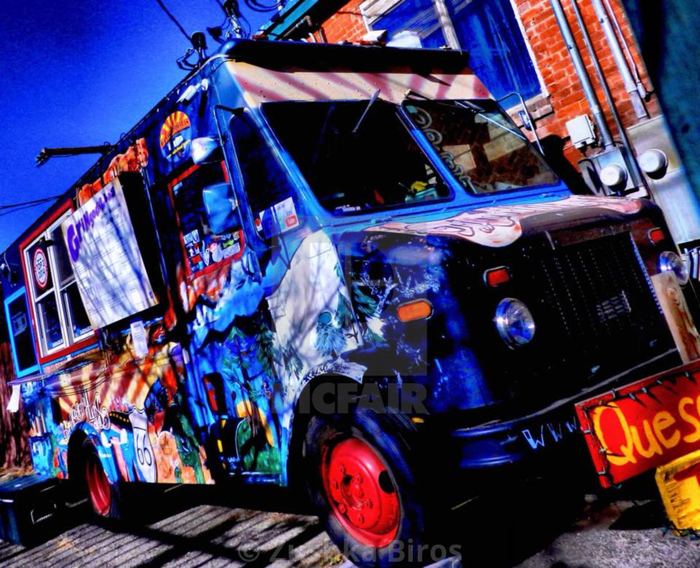 """Food Truck"" stock image"