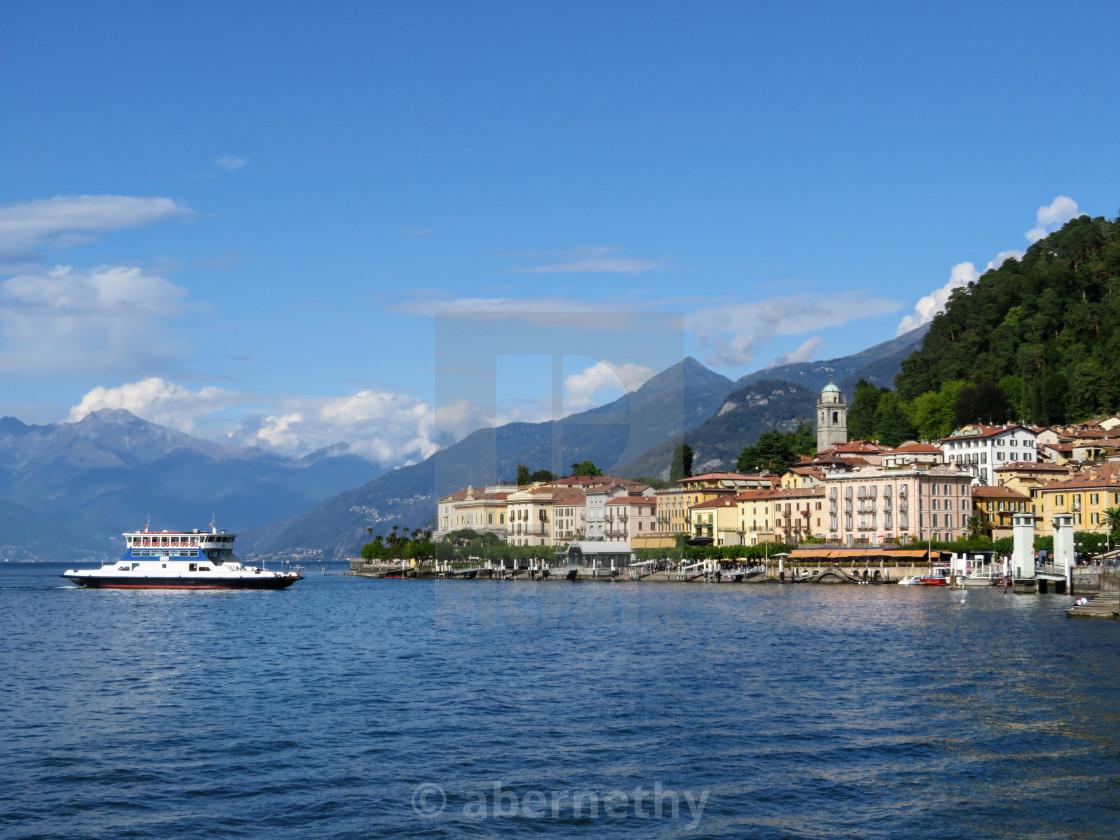 """Bellagio Lake Como"" stock image"