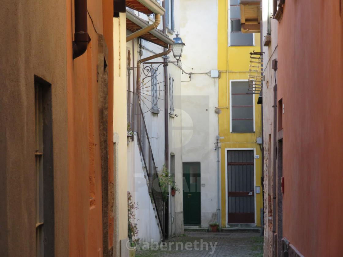 """Streets and Lanes of Italy"" stock image"