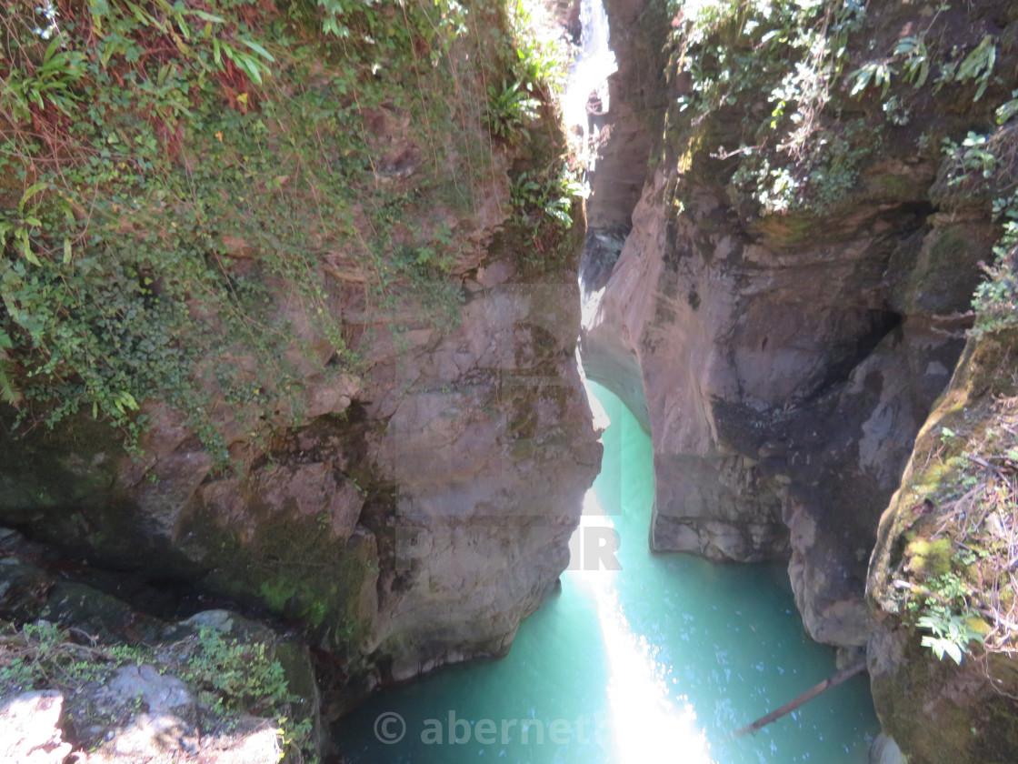 """Gorge, Italy nature"" stock image"