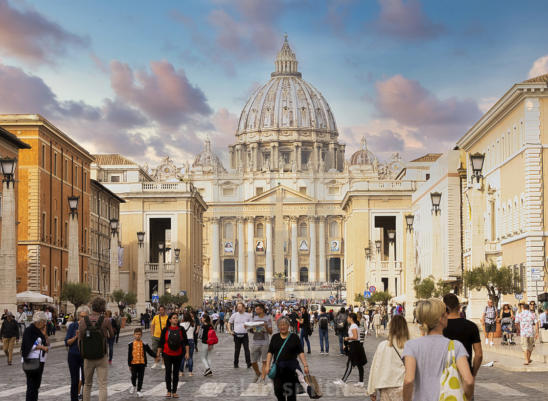 """St Peters"" stock image"