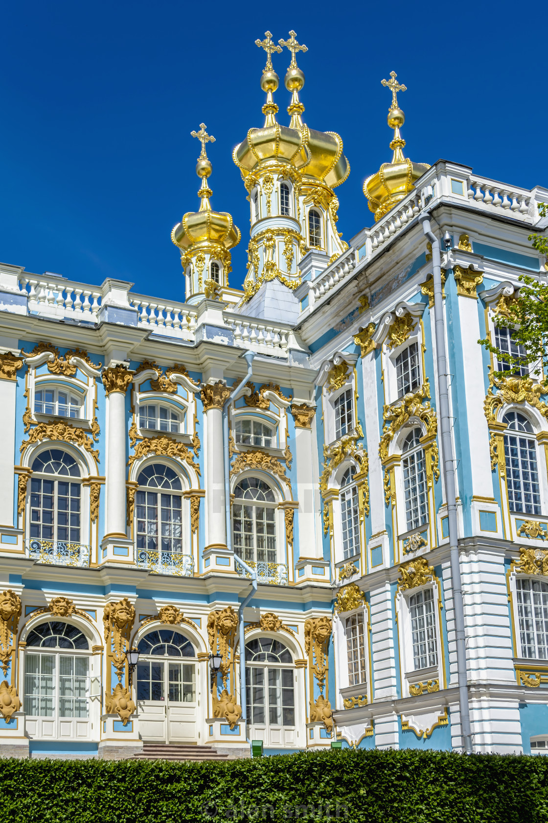 """Catherine's Palace"" stock image"