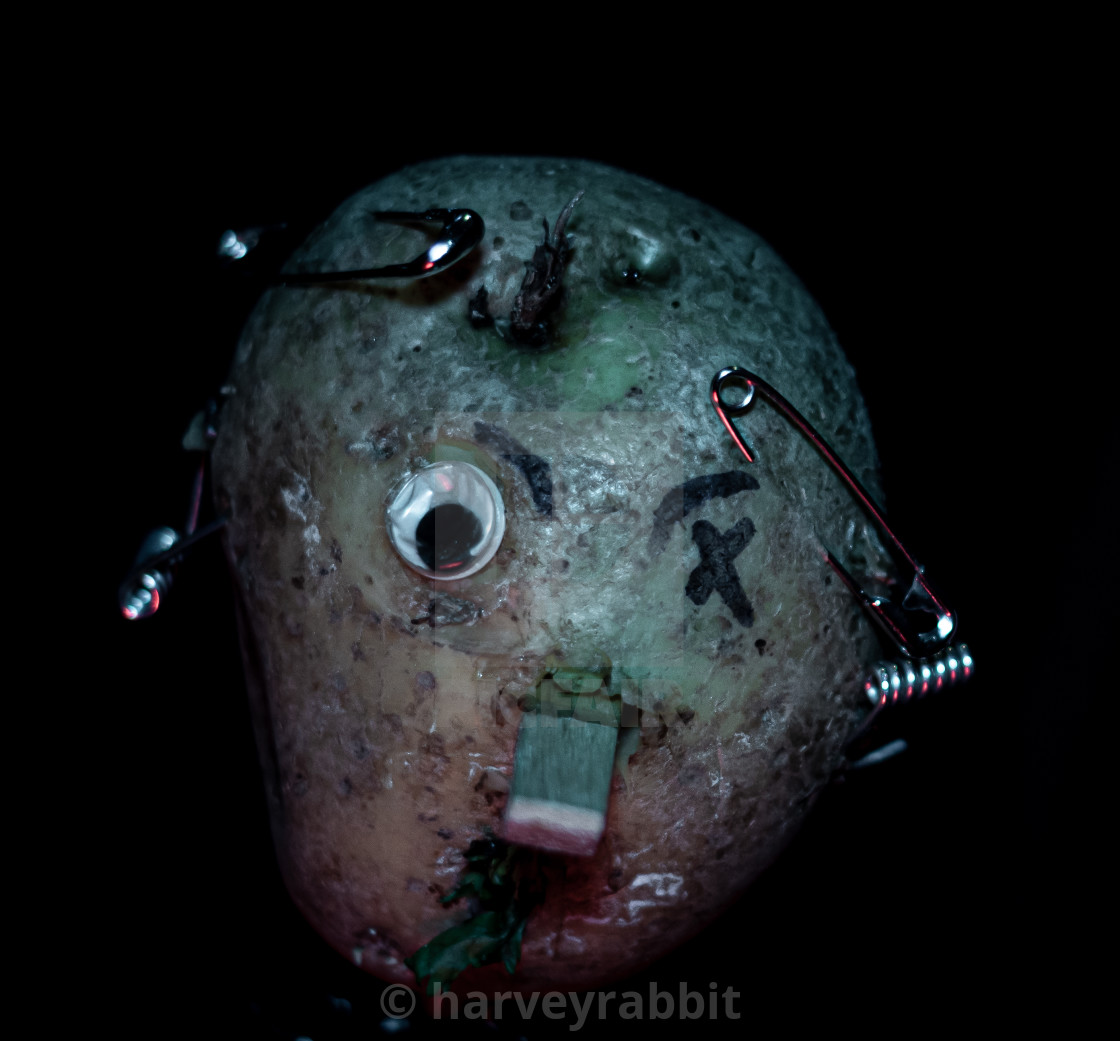 """Punk Rock Potato"" stock image"