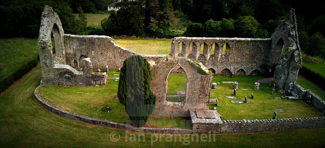 """12Th Roscommon Abbey Ireland"" stock image"