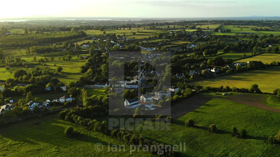 """""""Glasson Co Westmeath Ireland"""" stock image"""