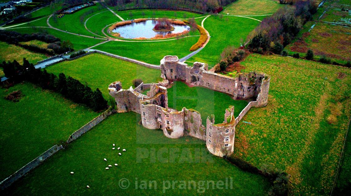 """Roscommon Castle Roscommon Ireland"" stock image"