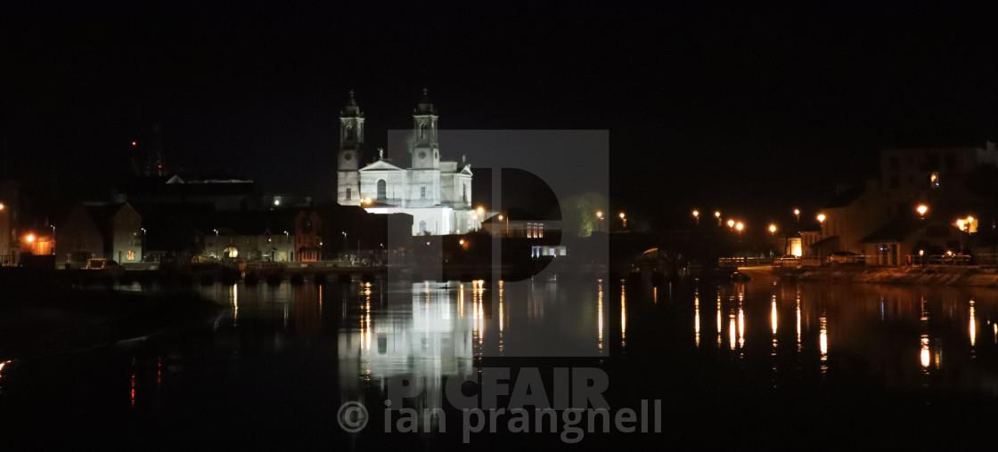 """St Peters Church Athlone Ireland"" stock image"