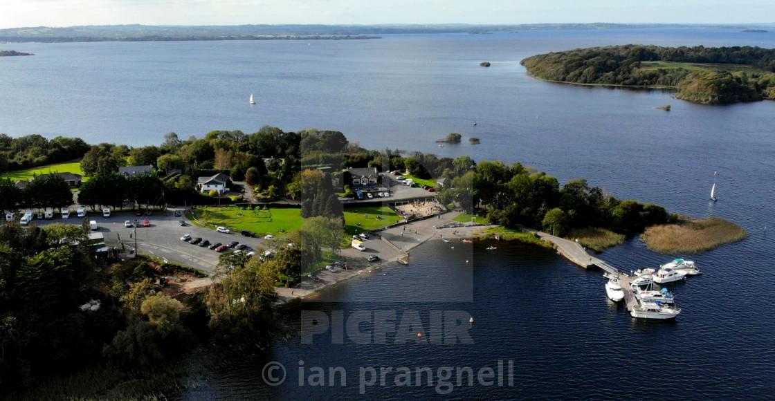 """Coosan Point Athlone & Lough Ree"" stock image"