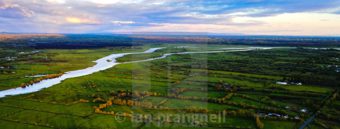 """""""River Shannon In Ireland"""" stock image"""