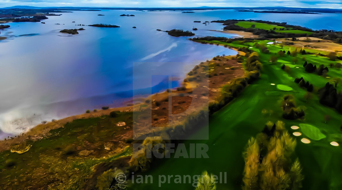 """Lough Ree & Athlone Golf Club"" stock image"
