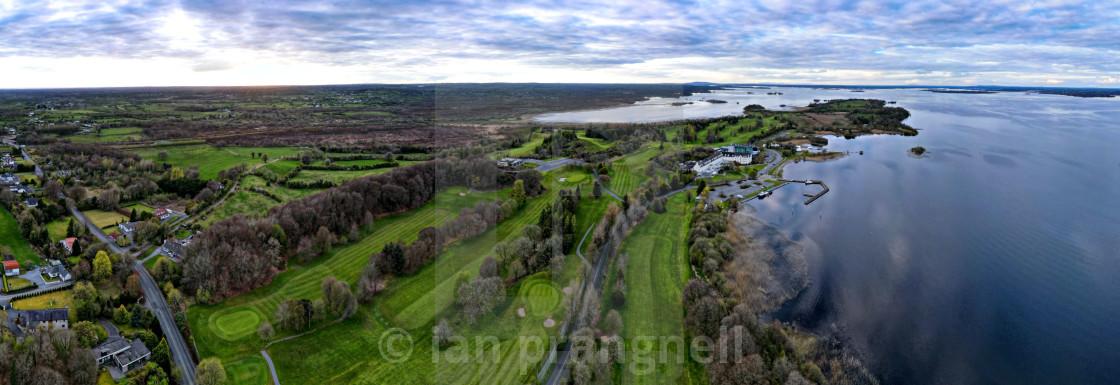 """Hodson Bay in Co Roscommon Ireland"" stock image"