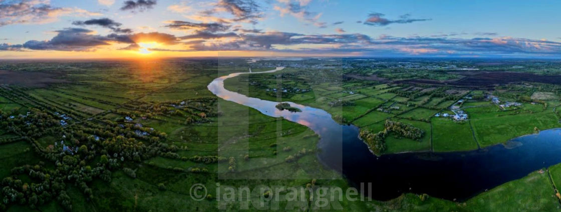 """Moody River Shannon Ireland"" stock image"