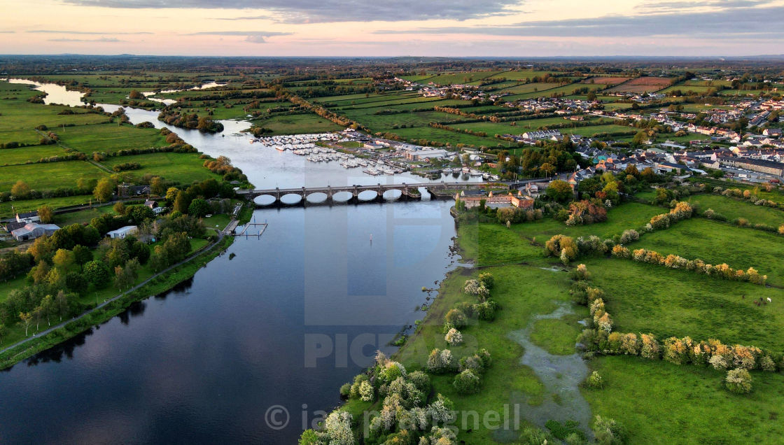"""""""Banagher Co Offaly"""" stock image"""
