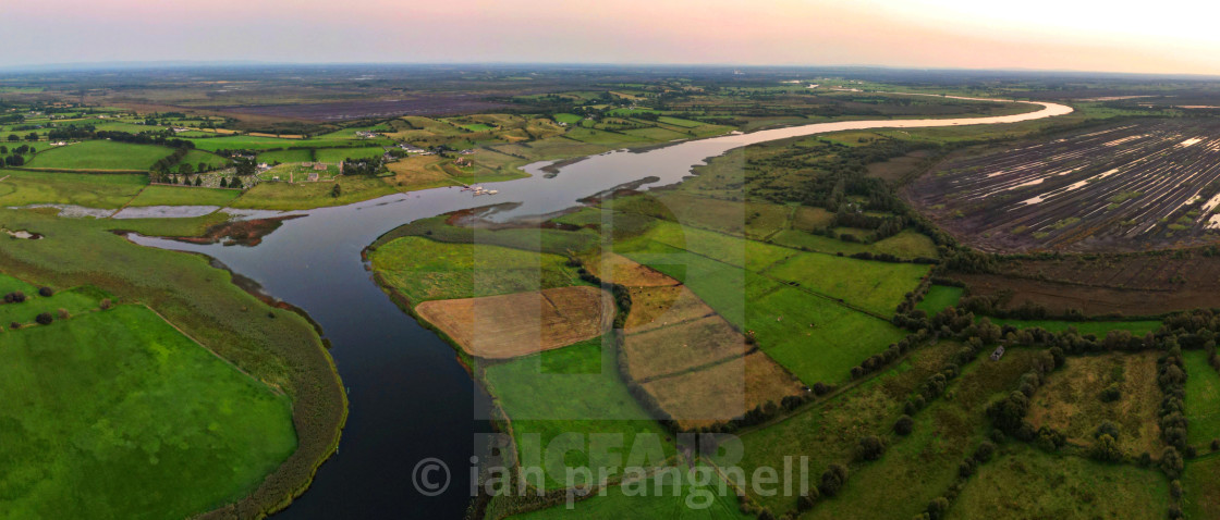 """""""6th Century Clonmacnoise Co offaly"""" stock image"""
