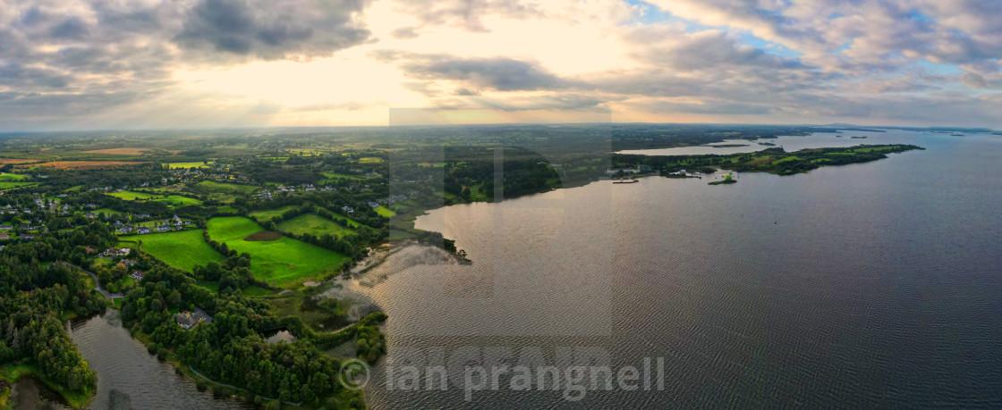 """""""Hodson Bay & Yew Point Ireland"""" stock image"""