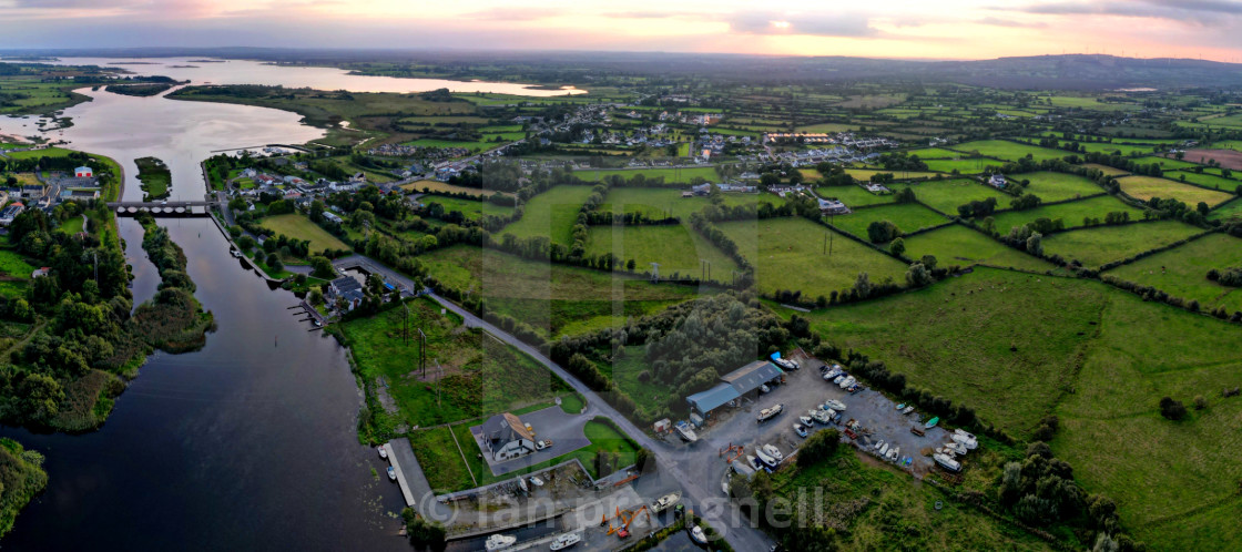 """""""Green Green Grass of Co Roscommon"""" stock image"""