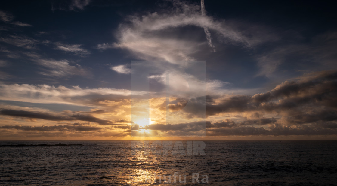 """""""Good morning. from Coogee Breach"""" stock image"""