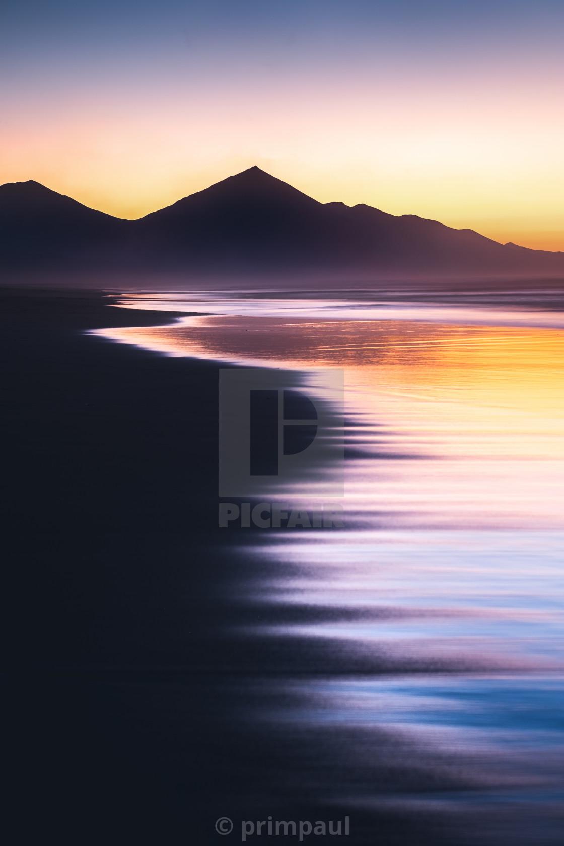 """Colorful Sea #2"" stock image"