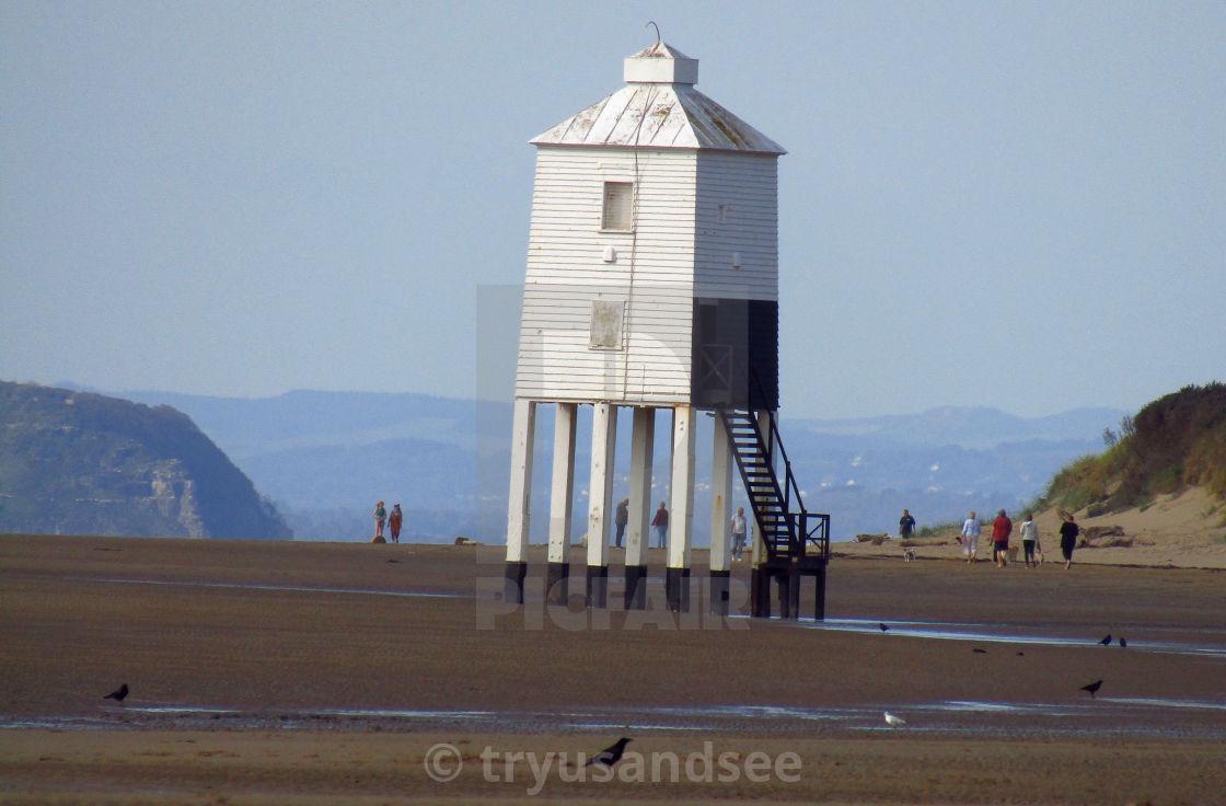 """Burnham lighthouse"" stock image"