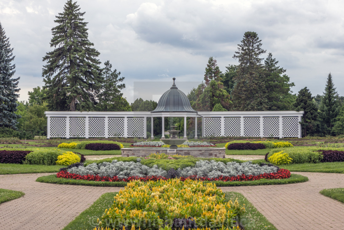 """Niagara Horticulture Gardens"" stock image"