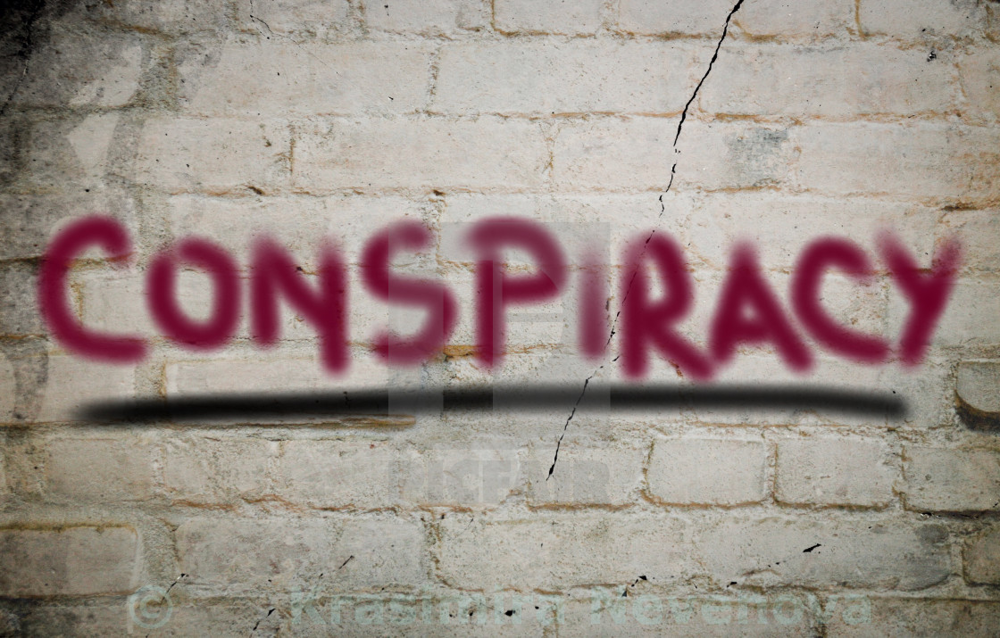 """""""Conspiracy Concept"""" stock image"""