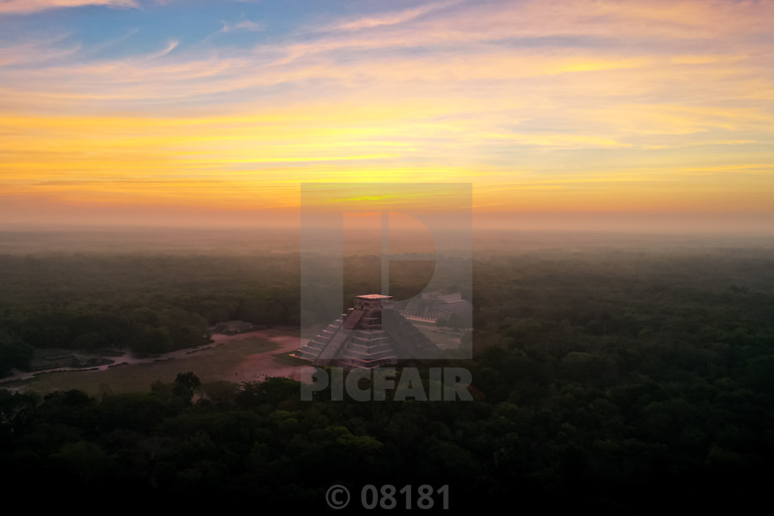 """Chichen Itza 3"" stock image"