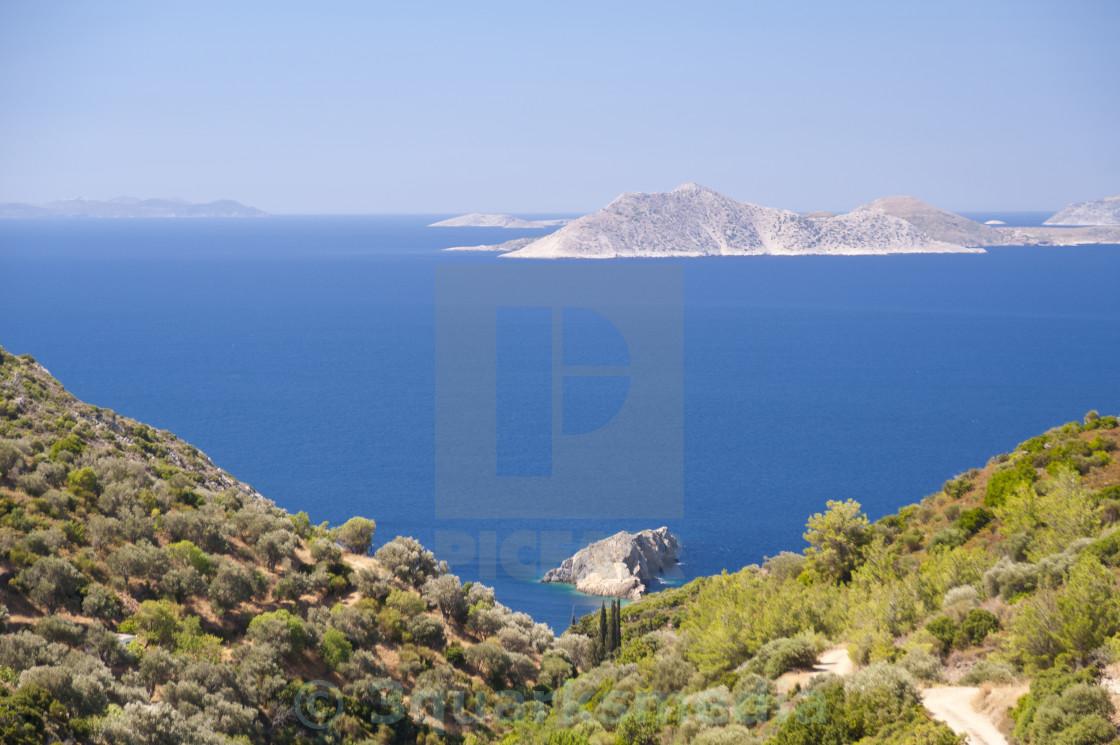 """Aegean in Samos"" stock image"