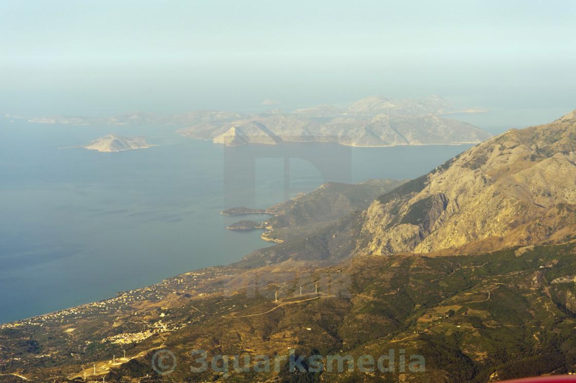"""""""Landscape on Samos"""" stock image"""