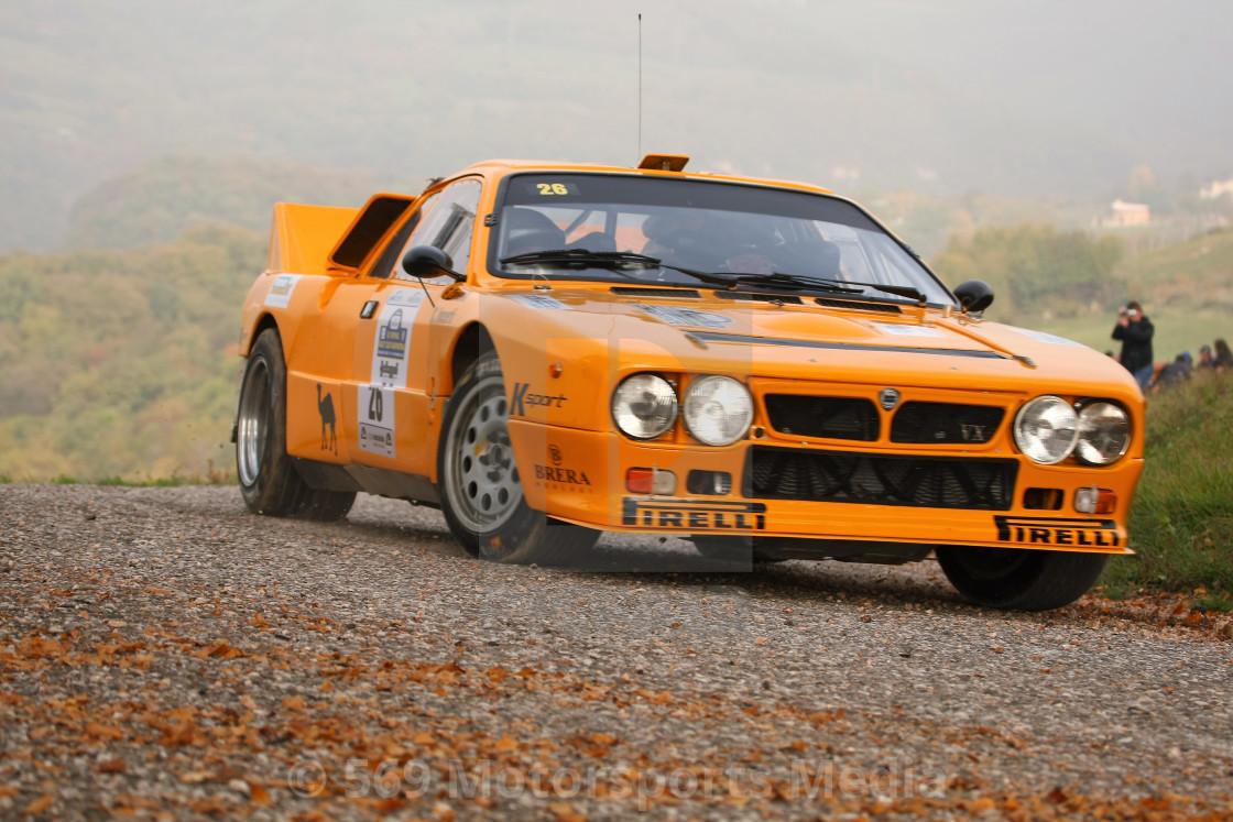 """""""Lancia 037"""" stock image"""