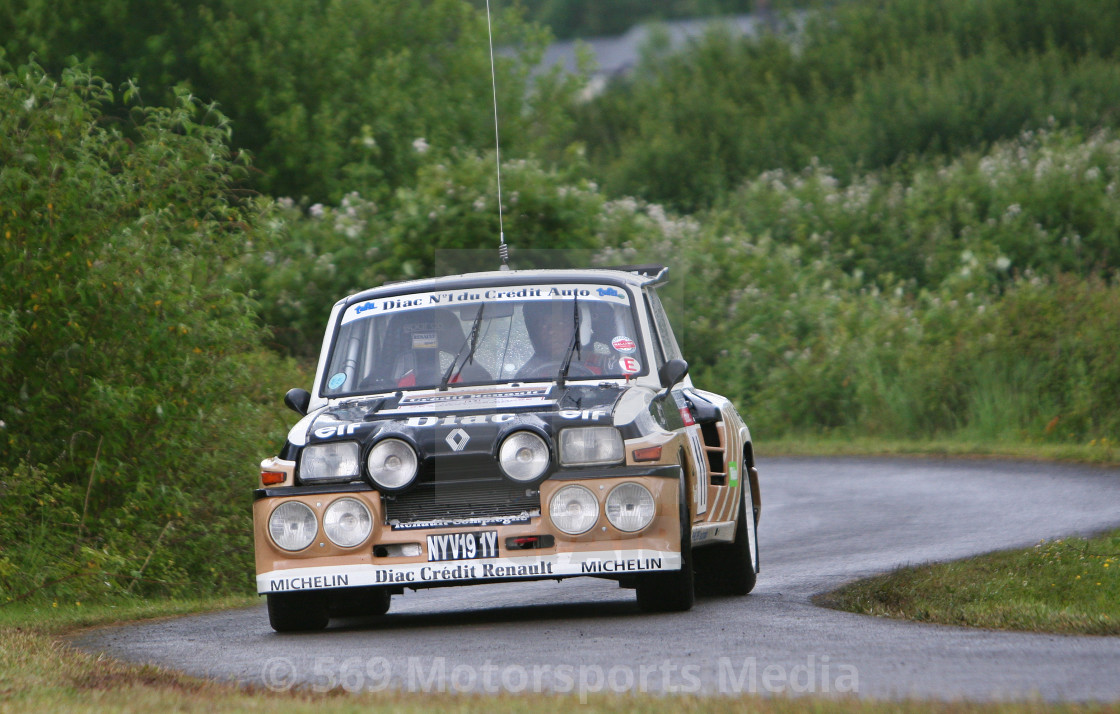"""Renault 5 Turbo"" stock image"