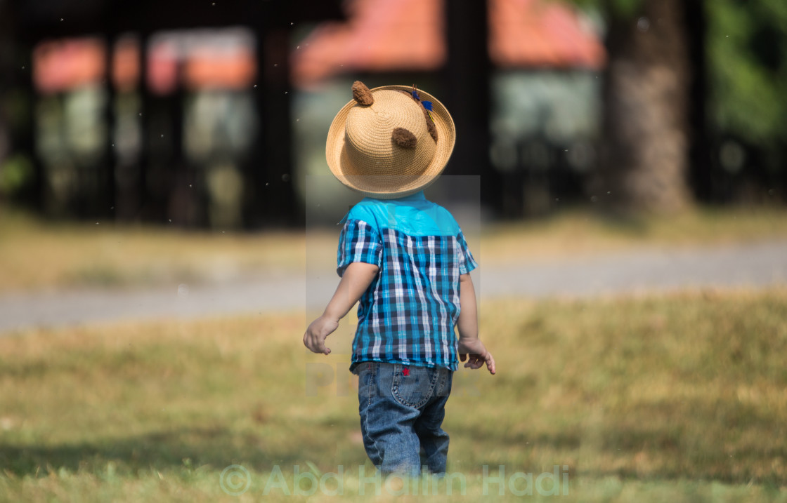 """Kid in the Playground"" stock image"