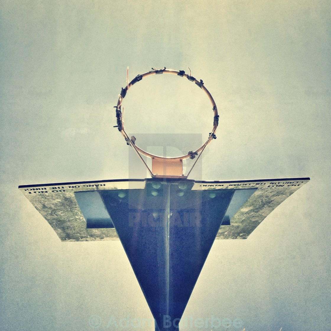 """""""Angel hoop"""" stock image"""