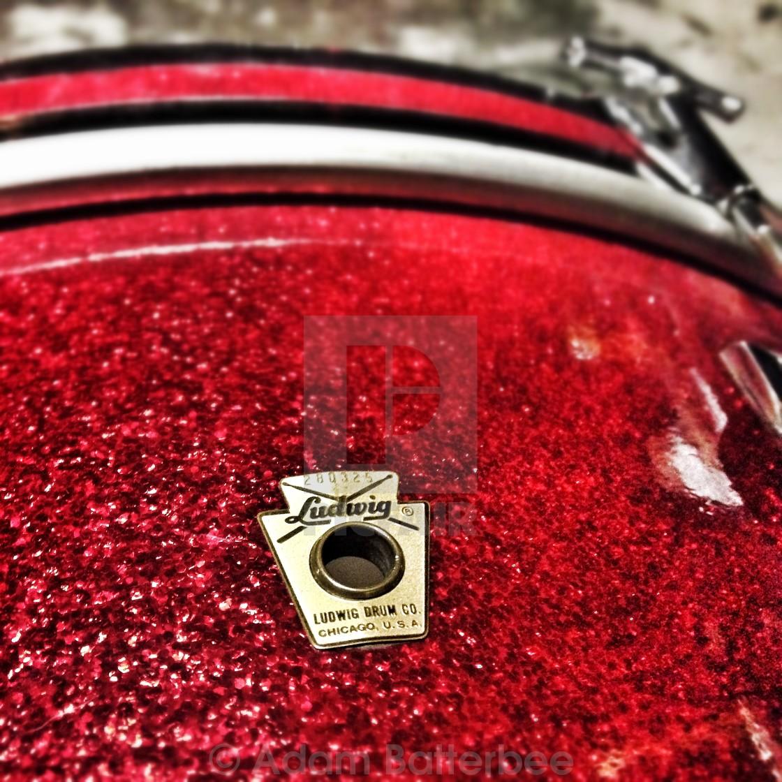"""Ludwig drum"" stock image"