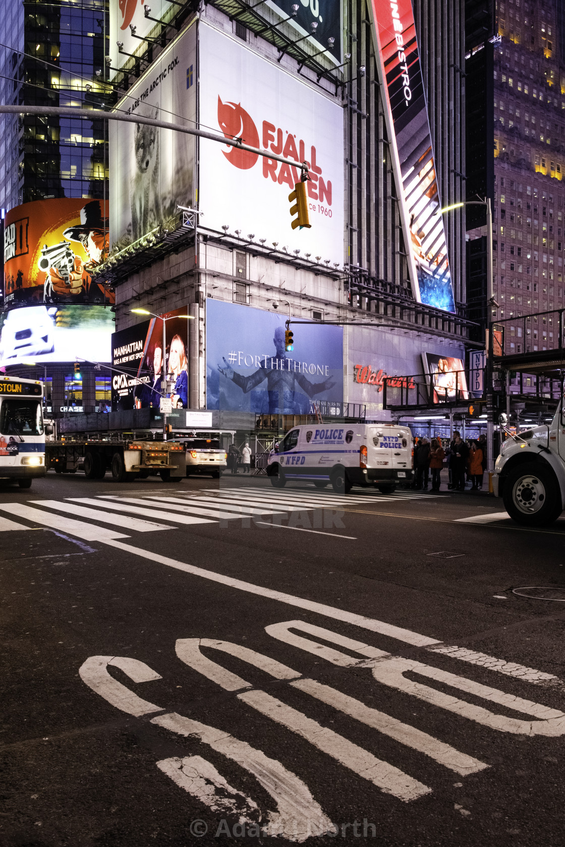 """On to Times Square, New York"" stock image"