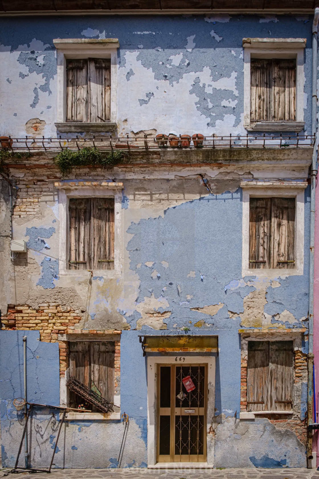 """Venice decay"" stock image"