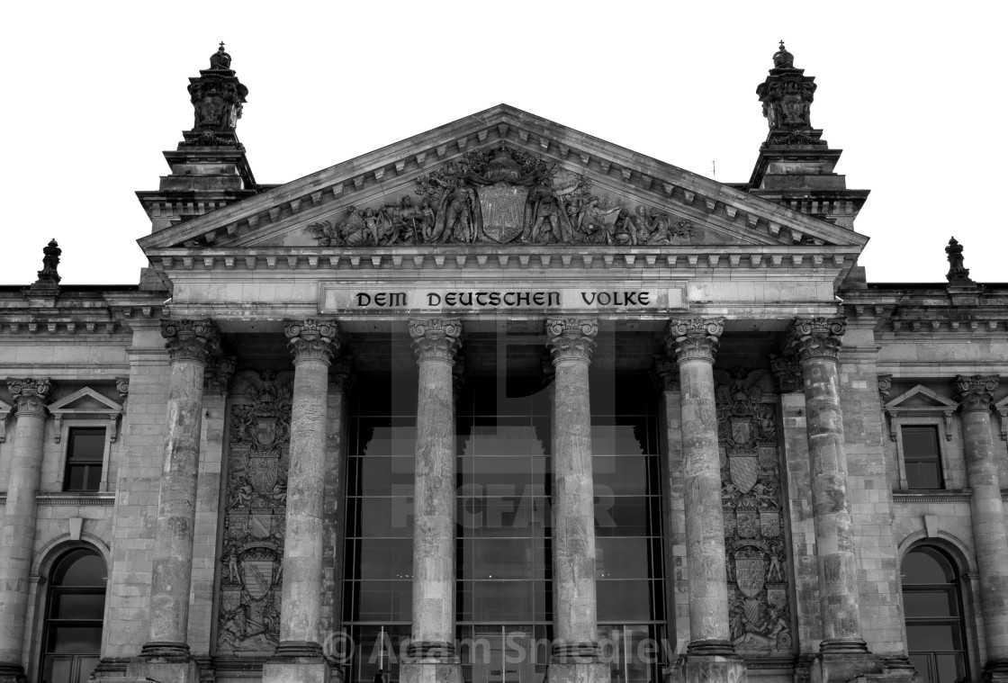 """Reichstag"" stock image"