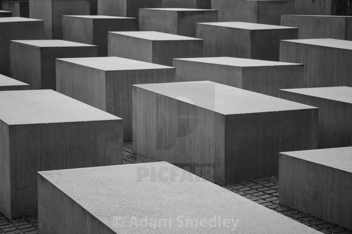 """Blocks of Remembrance"" stock image"