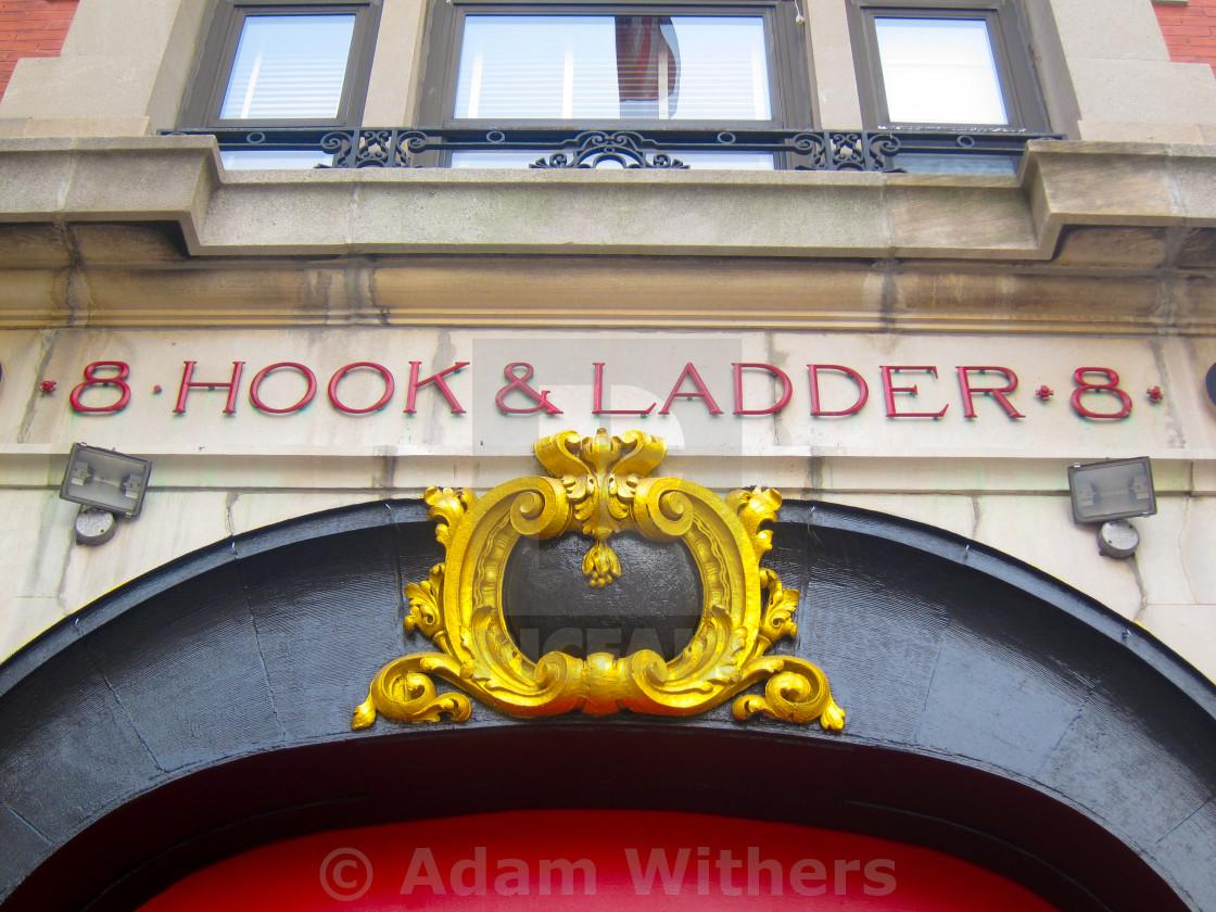 """""""Hook & Ladder 8"""" stock image"""
